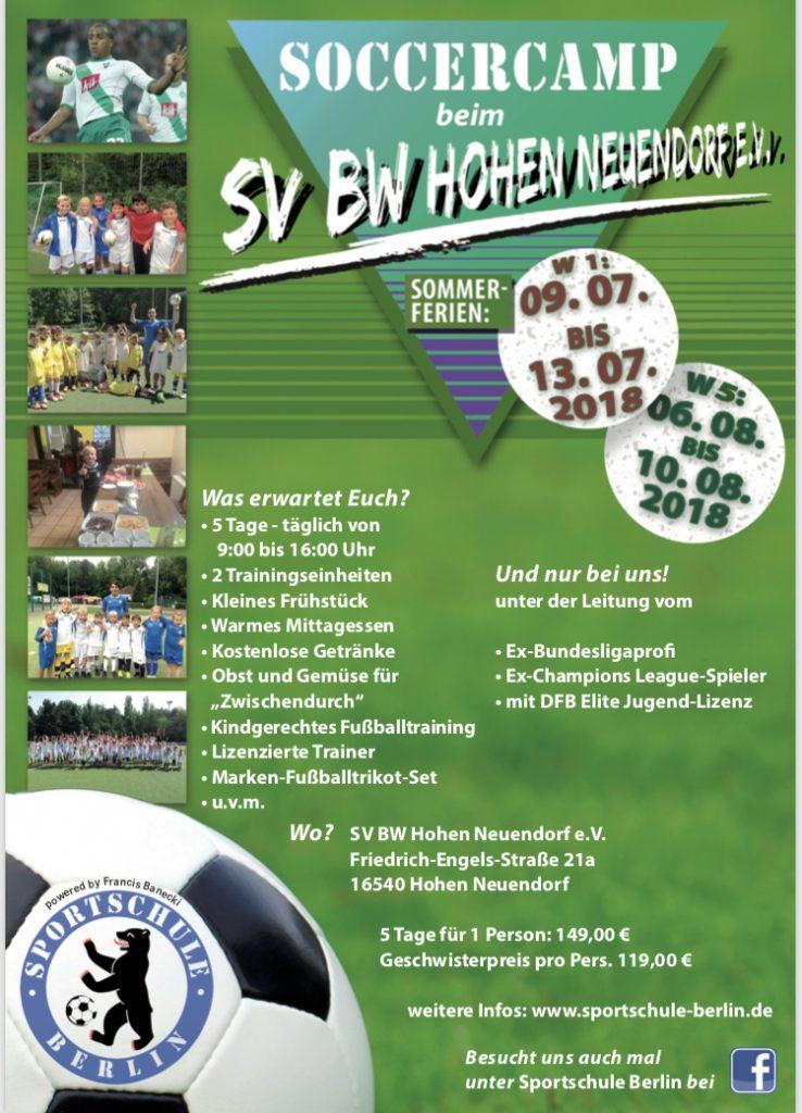 Soccercamp I @ Niederheide | Hohen Neuendorf | Brandenburg | Deutschland