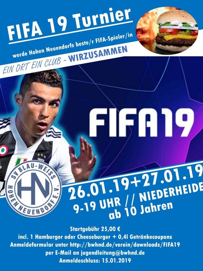 EASports FIFA 19 Turnier @ Niederheide | Hohen Neuendorf | Brandenburg | Deutschland