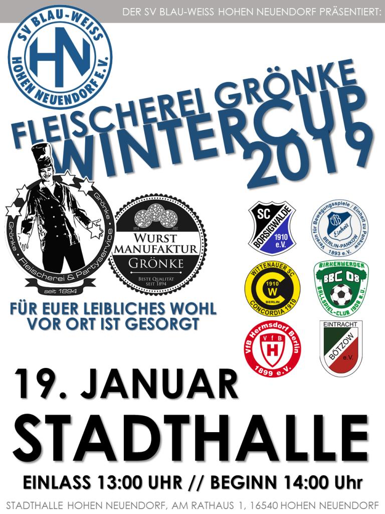 Fleischerei Grönke Wintercup @ Stadhalle Hohen Neuendorf | Hohen Neuendorf | Brandenburg | Deutschland