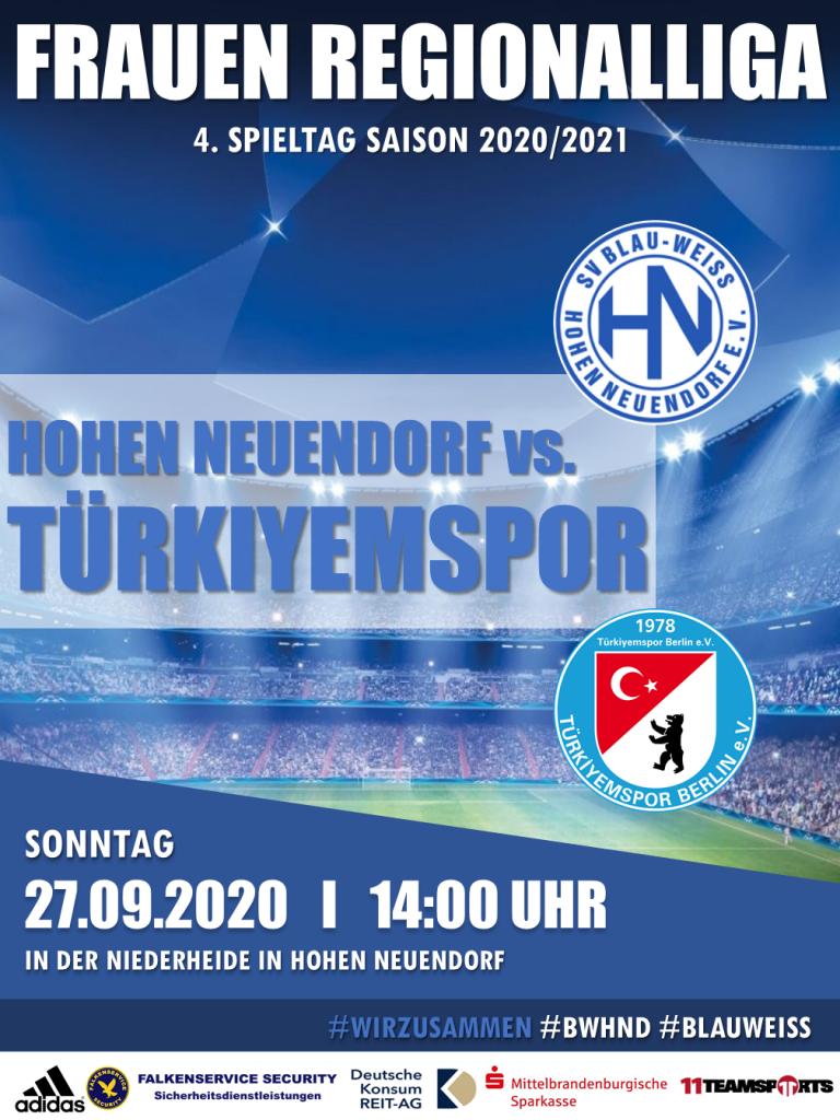 1. Frauen // BWHND vs. Türkiyemspor @ Niederheide | Hohen Neuendorf | Brandenburg | Deutschland