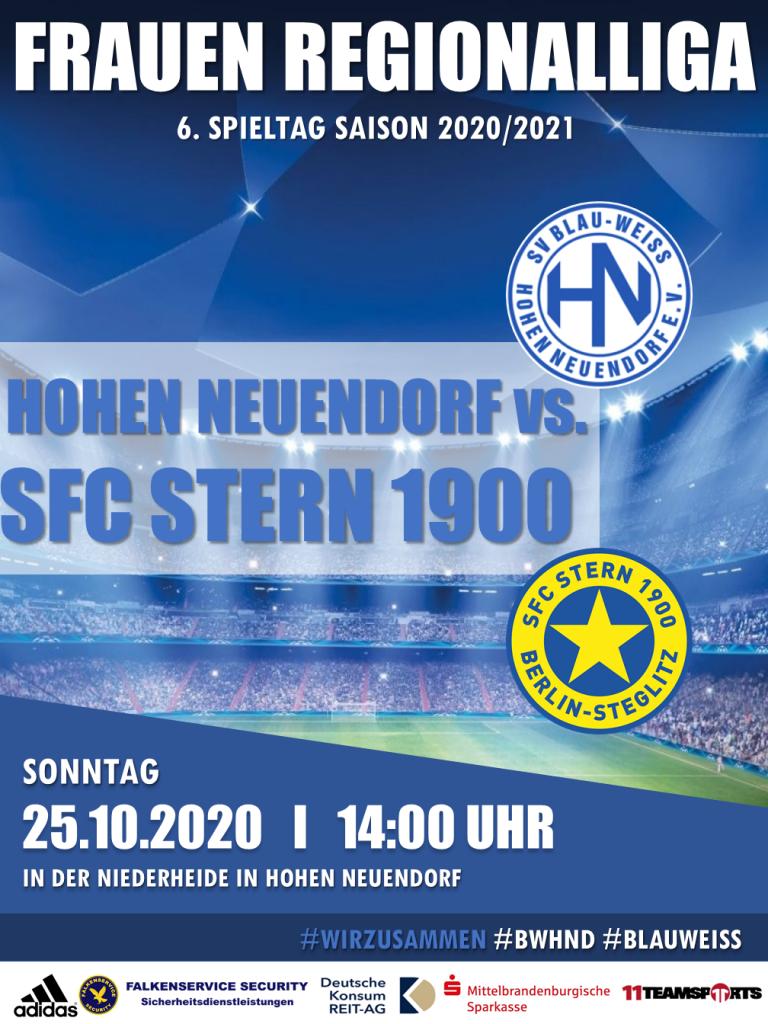 1. Frauen // BWHND - Stern 1900 @ Niederheide | Hohen Neuendorf | Brandenburg | Deutschland