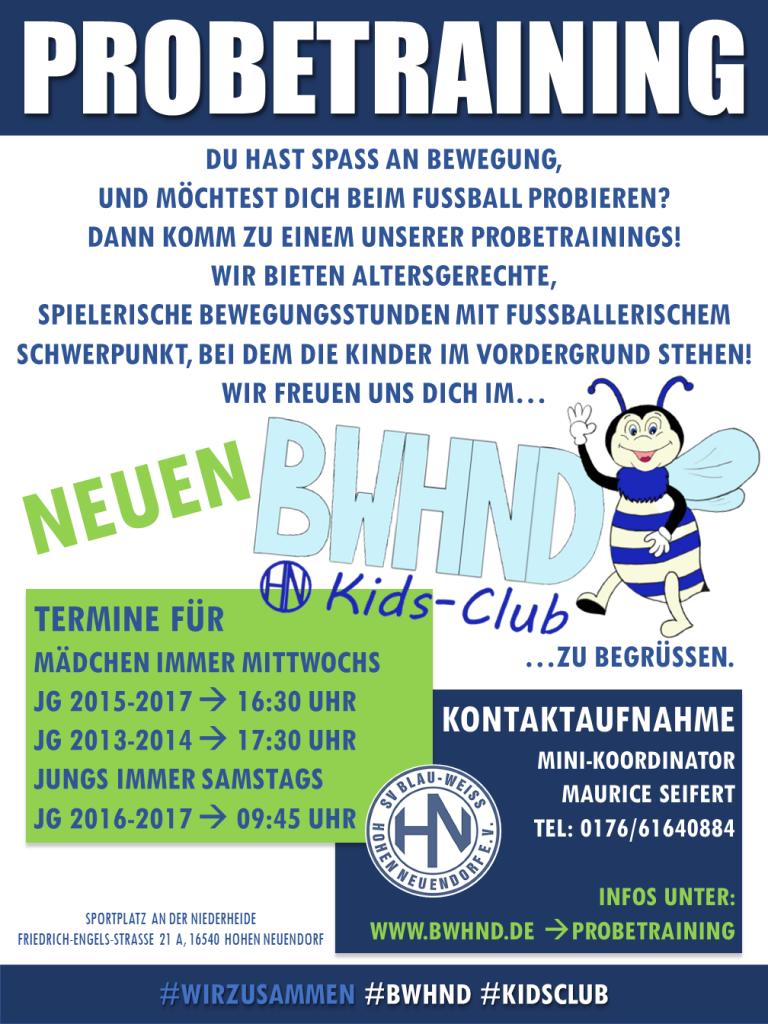 KIDS CLUB MÄDCHEN @ Niederheide | Hohen Neuendorf | Brandenburg | Deutschland